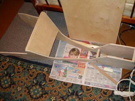 Изготовление консоли между сидениями своими руками